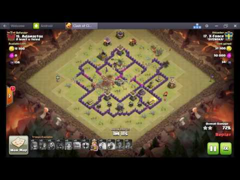 TH8   X Force vs #15 @ least u tried