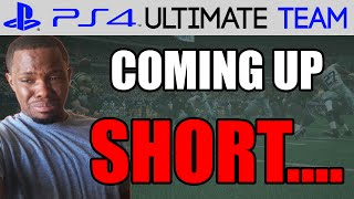 COMING UP SHORT! Madden 15 Ultimate Team Gameplay   MUT 15 PS4 Gameplay