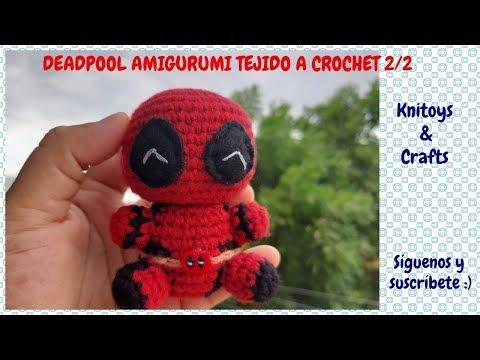 Kids toys Amigurumi chibi deadpool plush SOXTISSOWW | 360x480