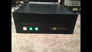 Yamaha M-2 Power Amp Repair - One Channel Not Working