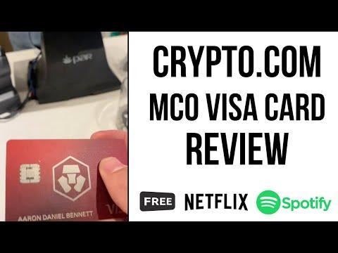 WHY THE CRYPTO.COM MCO BITCOIN DEBIT CARD IS STILL THE BEST  - MCO CRO Bitcoin Crypto VISA Card
