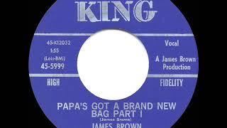 1965 HITS ARCHIVE: Papa's Got A Brand New Bag (Part 1) - James Brown (#1 R&B hit)