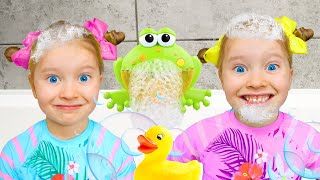 Bath Song | Kids songs from Milli and family | Song Nursery Rhymes & Children's Songs