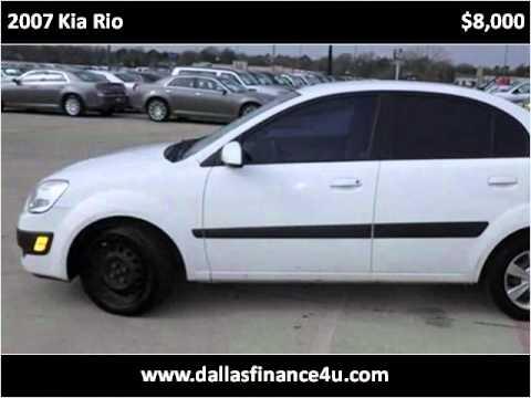 2007 Kia Rio Used Cars Dallas TX