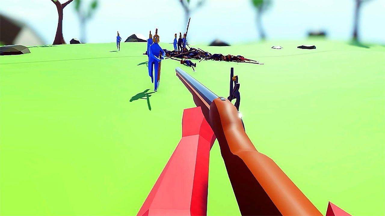 ВИД ОТ ПЕРВОГО ЛИЦА ► Totally Accurate Battle Simulator #10