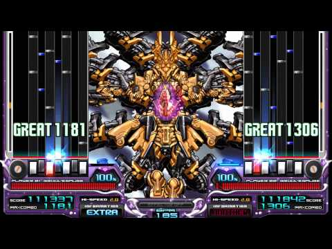IIDX EMPRESS - 卑弥呼 (A Vs 黑) Autoplay