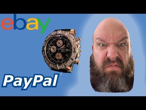 Don't Sell Luxury Watches On EBay - I Got Scammed Through PayPal!  Breitling Super Avenger