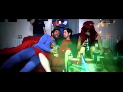 Esto pasa cuando los superhéroes se van de fiesta - The Superheroes Hangover