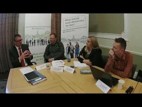 Adrian Lythgo - former Chief Executive of Kirklees Council
