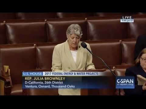 Energy and Water Appropriations - Brownley Amendment