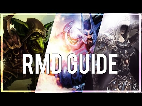 RMD BASIC ARENA GUIDE  - (Combat Rogue PvP) Warlords of Draenor 6.2.3