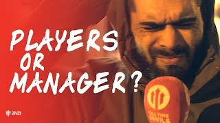 PLAYERS OR MANAGER? Valencia 2-1 Manchester United