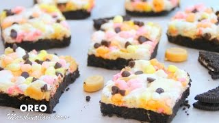 Oreo Marshmallow Bars - 5 Ingredients