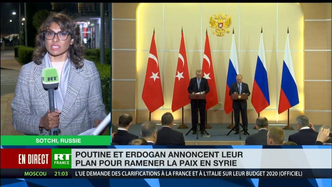 Accord Poutine-Erdogan, les Européens n'ont toujours rien compris !