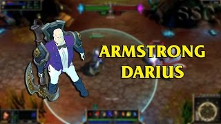 Alex Louis Armstrong Darius LoL Custom Skin ShowCase