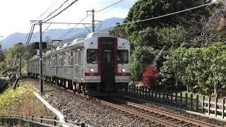 伊豆急8000系歌舞伎ラッピング貸切列車(TA-7編成)で行く なつかしの東急8000系を堪能する旅