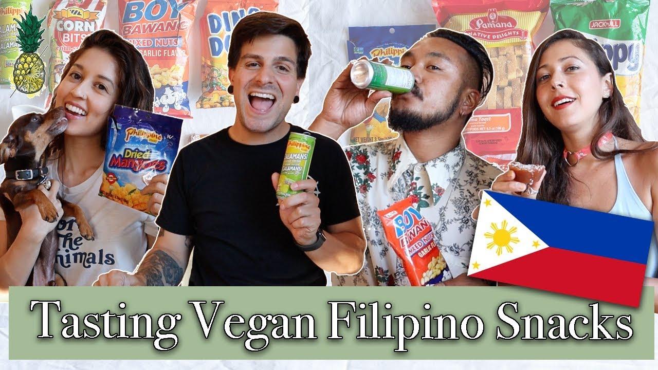 Filipino Snack Taste Test