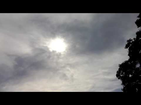 Wierd clouds & Sun - Berkeley 1of4