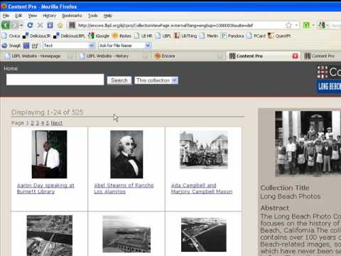 LBPL Digital Archive Intro