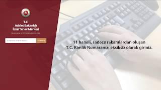 İzmir Adalet Komisyonu Klavye Uygulama Sınav Program Tanıtımı