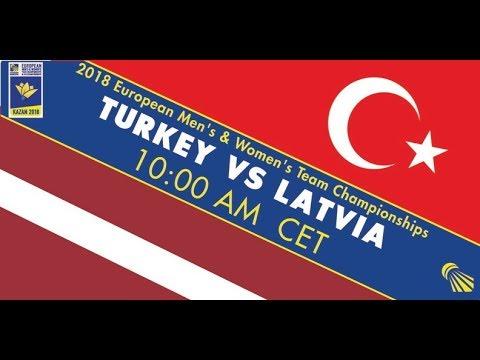 2018 EWTC Turkey - Latvia (Court 4)