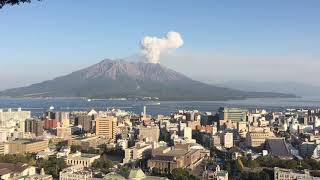 Sakurajima Volcano Eruption ???? 12/11/2019 櫻島火山噴發 桜島の噴火 Volcanic Eruption
