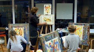 Стань художником-лучистом вместе с «Поколением М» и Третьяковской галереей