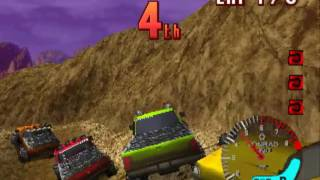 TNN Motor Sports Hardcore 4x4  ~ PS1 PlayStation