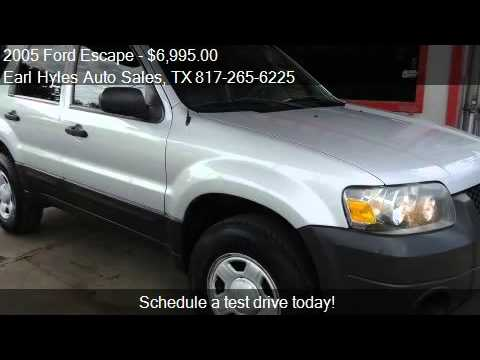 2005 Ford Escape XLS 2WD - for sale in Arlington, TX 76010