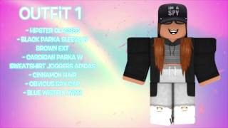 10 AWESOME FEMALE ROBLOX OUTFITS!!