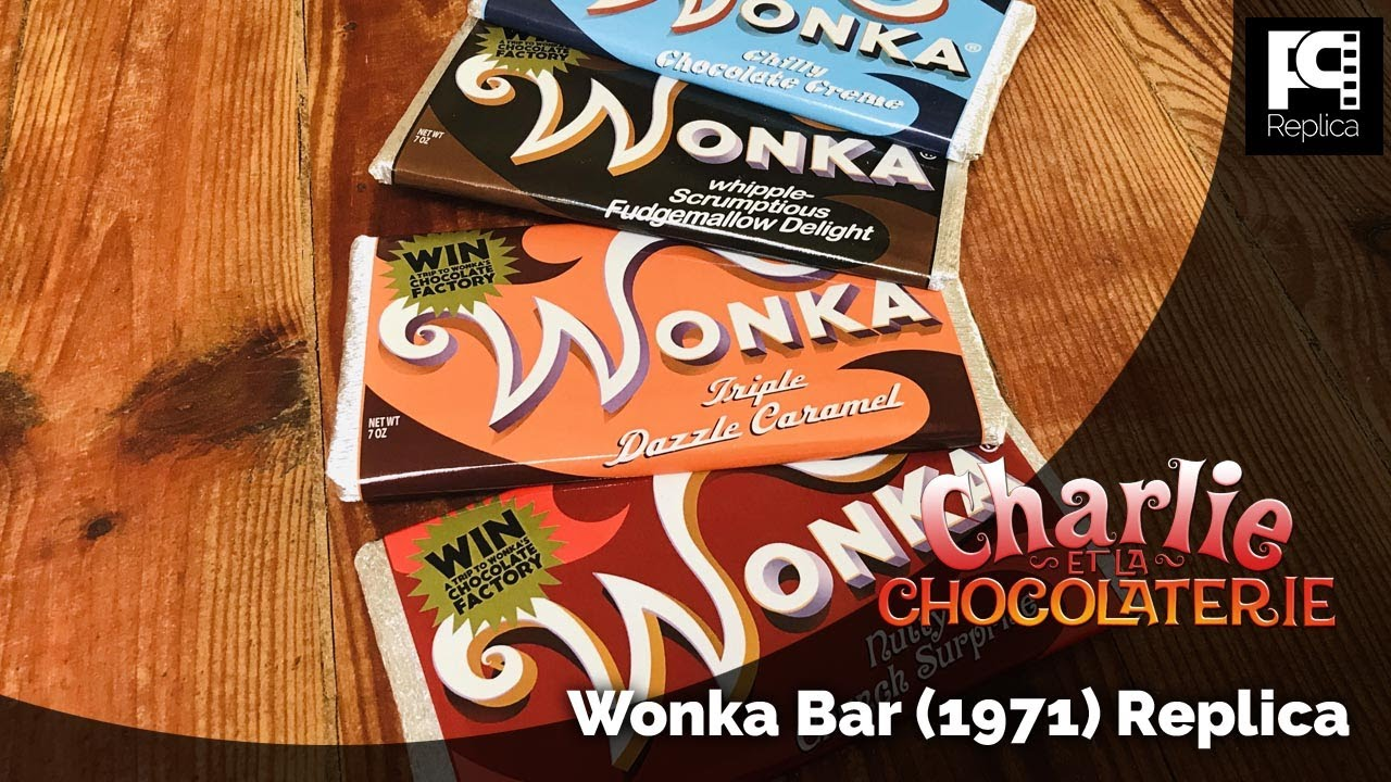 Wonka bar & Ticket d'or (Charlie et la Chocolaterie 2005) - REPLICA -  YouTube