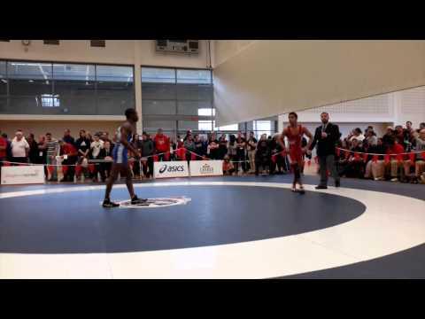 2015 Senior National Championships: 57 kg Sukhan Chahal vs. Dylan Williams