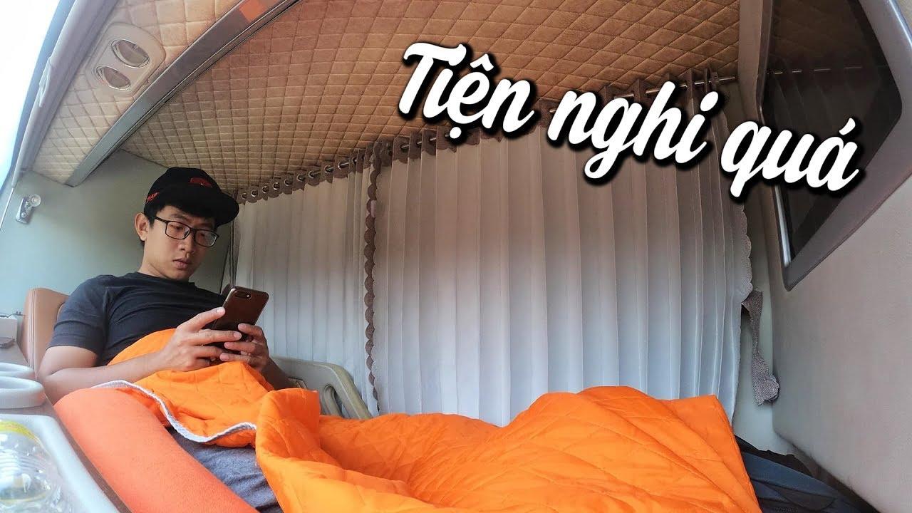 Xe đâu phải đi giường nằm? Review xe phòng nằm Thành Bưởi | MinC Motovlog
