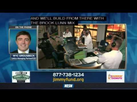 Jimmy Fund: Wyc Grousbeck