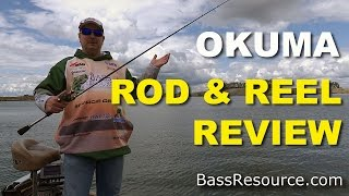 okuma helios rod and reel review   bass fishing