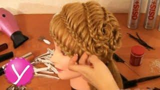 Плетение кос - праздничная прическа с цветами(Праздничная прическа в форме цветов ▻ http://womanuroki.ru/pleteniekos - жмите по ссылке, чтобы получить все бесплатные..., 2013-03-17T16:40:00.000Z)