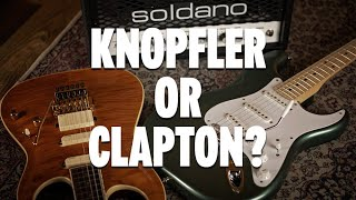 Mark Knopfler & Eric Clapton Signature Shootout!