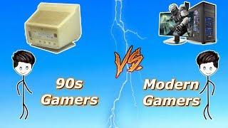90s Gamers Vs Modern Gamers