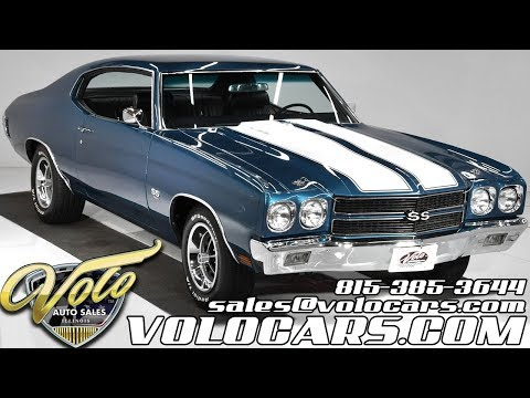 1970 Chevrolet Chevelle SS 454 For Sale At Volo Auto Museum (V18811)