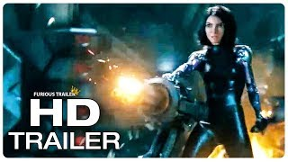ALITA BATTLE ANGEL Gladiator Fight Scene Trailer (NEW 2019) James Cameron Sci Fi Movie HD