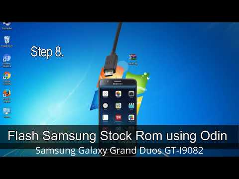 How To Samsung Galaxy Grand Duos GT-I9082 Firmware Update (Fix ROM)