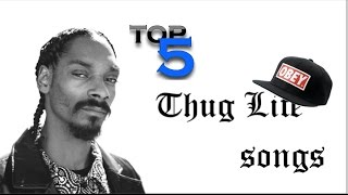 Top 5 best Thug life songs [Old & New] HD