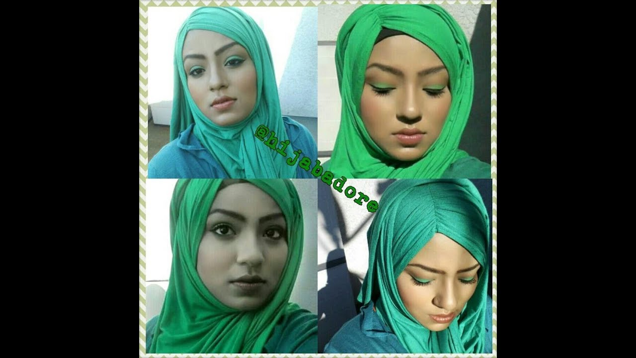 Jersey Hijab Style Tutorial Youtube