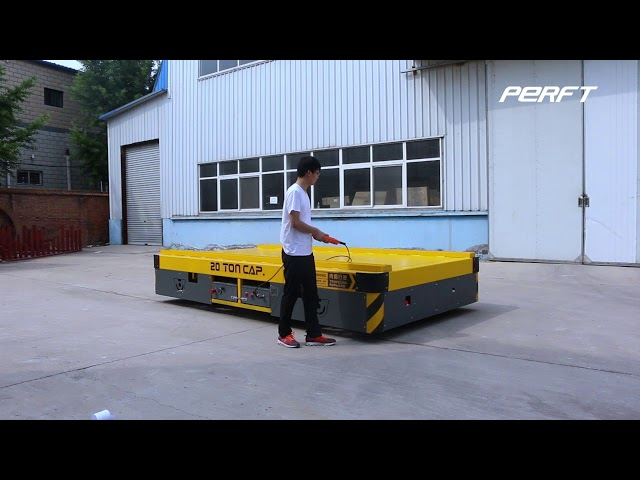 customized industrial rail trolley for 20T