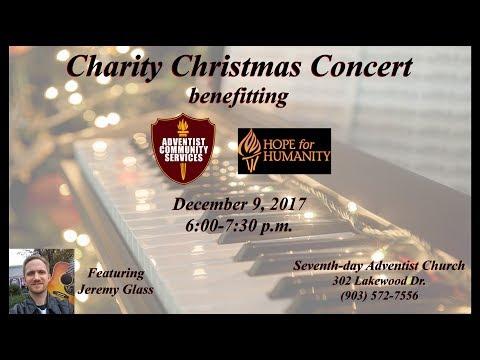 Charity Christmas Concert - December 9, 2017