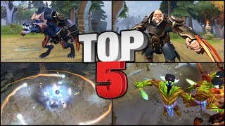 Dota 2 - TOP 5 Unofficial Mods (Sets)! #4