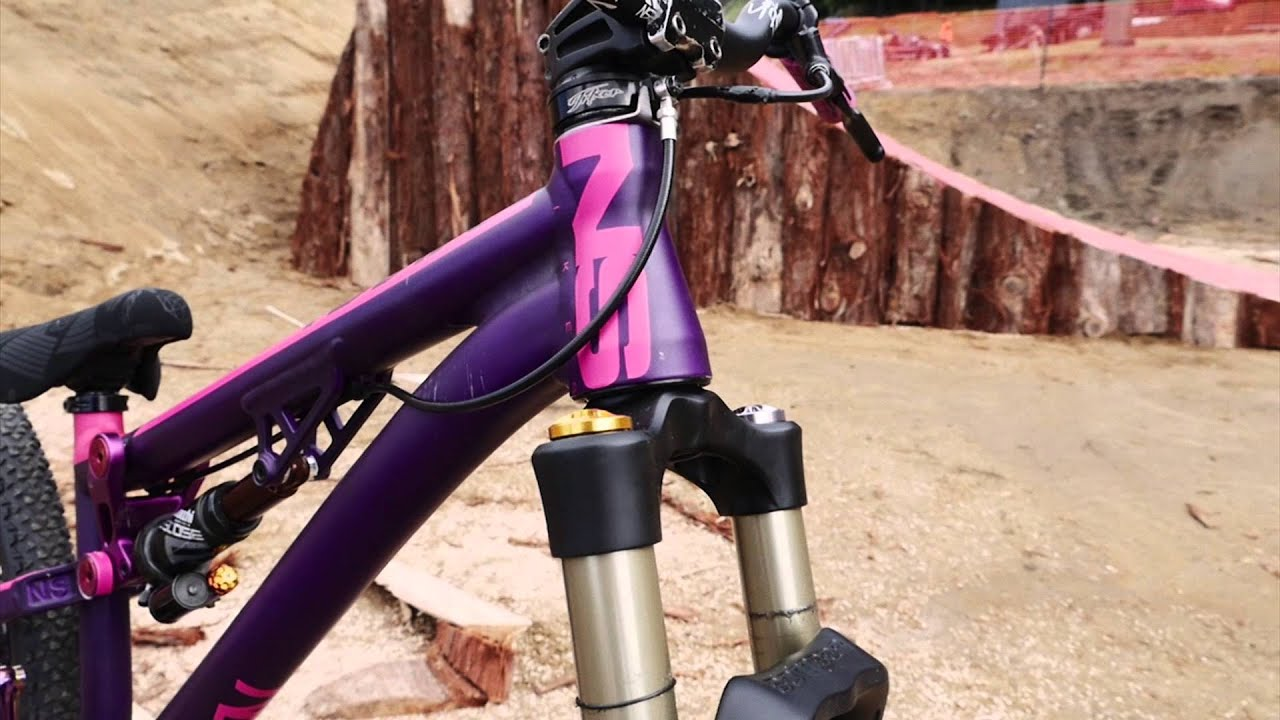 Sam Pilgrim Bike Check Ns Bikes Soda Slope 2015 Youtube