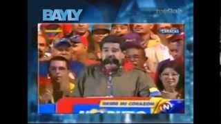 Bayly - Maduro no se sabe los estados de Venezuela luego arremete contra Willie Colón.