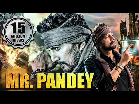 Mr. Pandey  Full Hindi Dubbed Movie | Sudeep Movies In Hindi Dubbed Full New