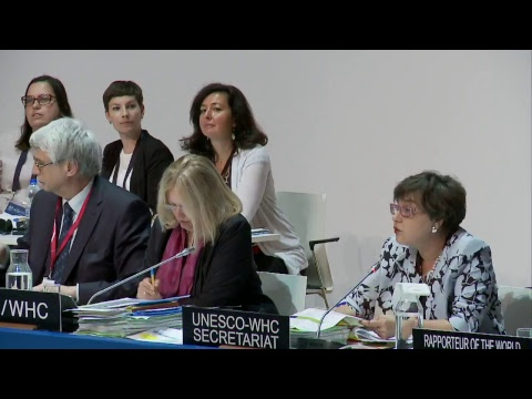 41st World Heritage Committee 3 July 2017 PM